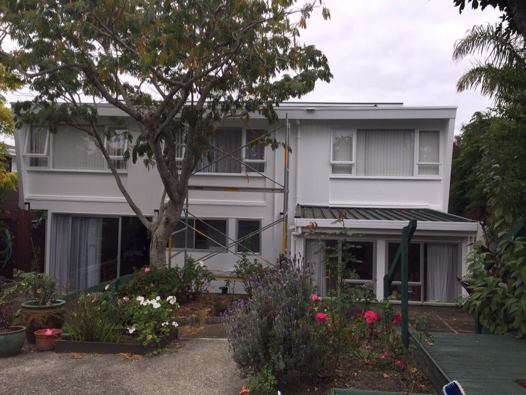 Kowhai Painting Company - Hillcrest House Exterior Painting TestimonialPicture